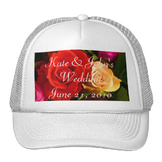 Red Yellow Rose Trucker Hat