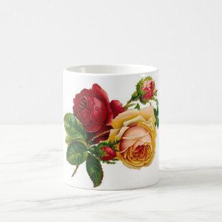 Red & Yellow Roses Coffee Mug