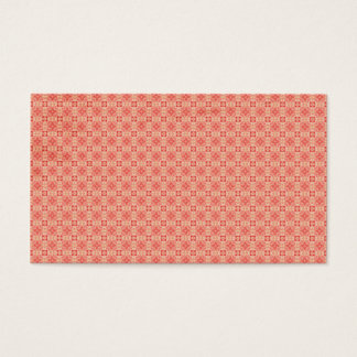 Red Yellow small Pattern Background Business Card
