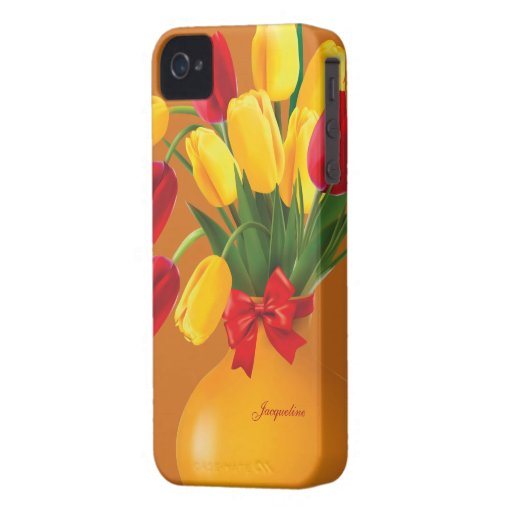 Red &Yellow Tulips Blackberry Bold Case