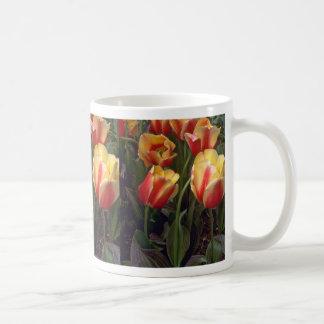 Red Yellow Tulips Coffee Mugs