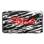 Red Yoga Zebra Skin iPod Touch Case-Mate Case
