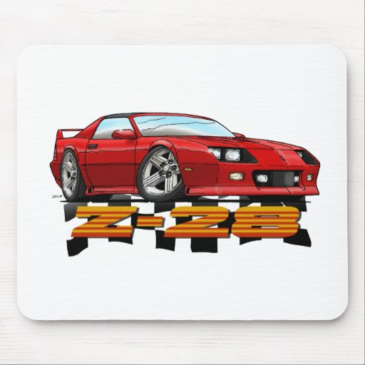Red_Z28_3G Mouse Pad