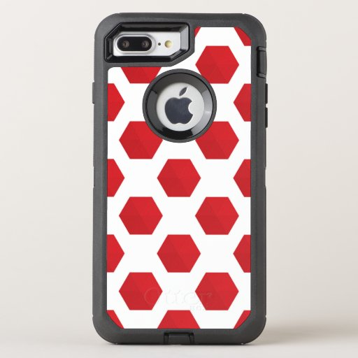 Red | Zazzle_Growshop. OtterBox Defender iPhone 8 Plus/7 Plus Case