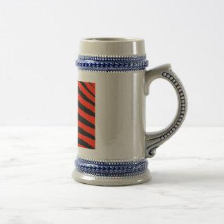 Red Zebra Beer Stein