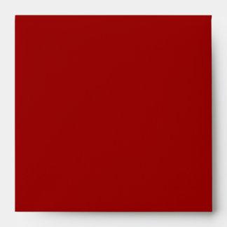 Red Zebra Envelope