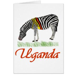 Red Zebra Series Card