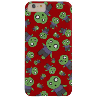 Red zombies barely there iPhone 6 plus case