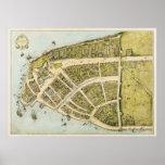 Redacción del plan New Amsterdam de Castello en 16 Impresiones