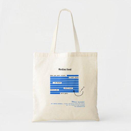 Redacted Bags