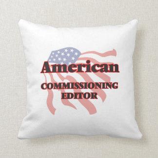Redactor de Comisión americano Cojin
