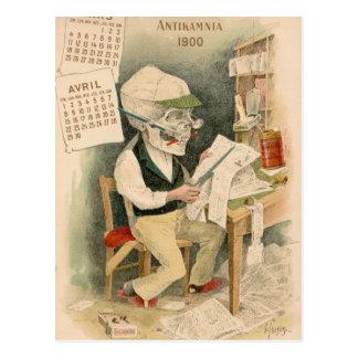 Redactor esquelético postal
