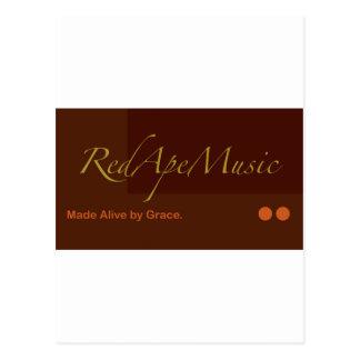RedApeMusic Tee Shirts and More! Postcard