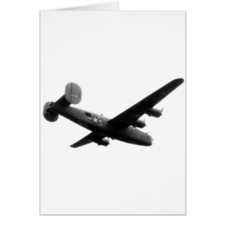 RedBallExpress Carpetbagger B-24 Liberator Card