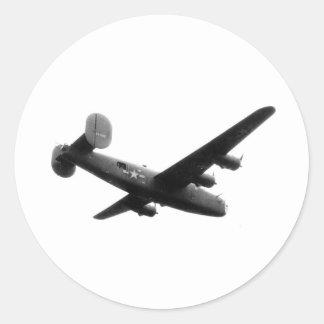 RedBallExpress Carpetbagger B-24 Liberator Classic Round Sticker