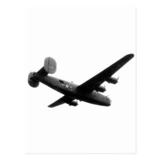 RedBallExpress Carpetbagger B-24 Liberator Postcard