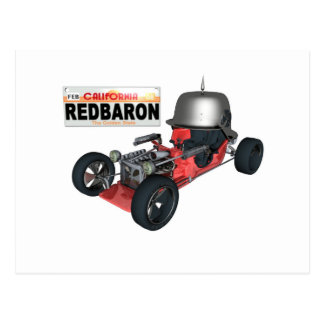 RedBaron Postcard