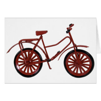 RedBicycle030310 Greeting Card