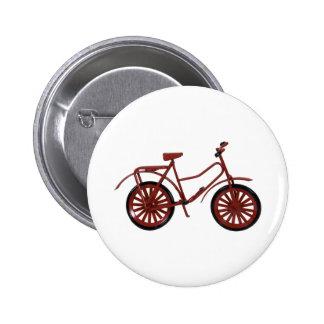 RedBicycle030310 Pinback Button