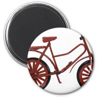 RedBicycle030310 Refrigerator Magnet