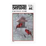 Redbird stamp