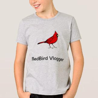 RedBird Vlogger's Boy's T-Shirt
