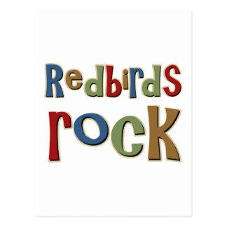 Redbirds Rock Postcard