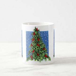 Redbird's Tree Classic White Coffee Mug
