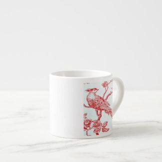 RedBirdsOnWhiteLinen Speciality/Espresso Mug