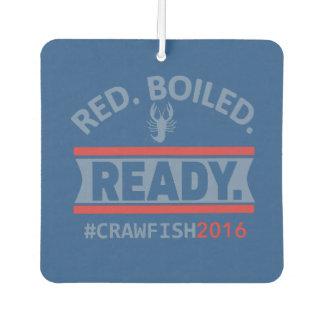 #RedBoiledReady Car Air Freshener