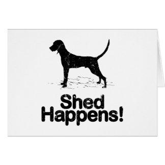 Redbone Coonhound Greeting Card