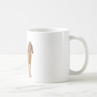 redbone coonhound coffee mug