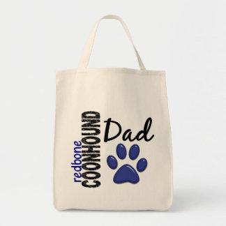 Redbone Coonhound Dad 2 Tote Bag