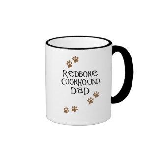 Redbone Coonhound Dad Mugs