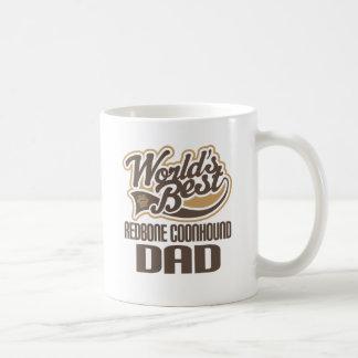 Redbone Coonhound Dad (Worlds Best) Coffee Mugs