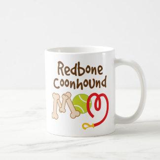 Redbone Coonhound Dog Breed Mom Gift Classic White Coffee Mug