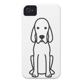 Redbone Coonhound Dog Cartoon Case-Mate iPhone 4 Case