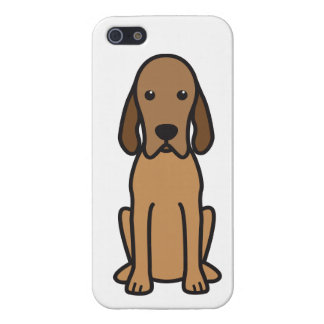 Redbone Coonhound Dog Cartoon Cover For iPhone 5