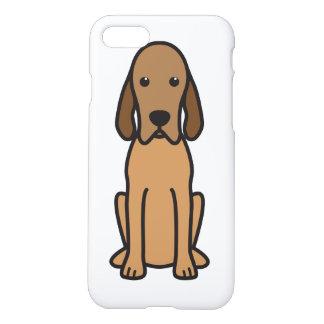 Redbone Coonhound Dog Cartoon iPhone 7 Case