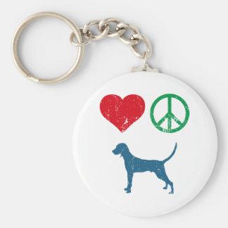 Redbone Coonhound Keychain