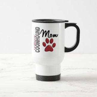 Redbone Coonhound Mom 2 Travel Mug