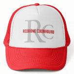 Redbone Coonhound Monogram Trucker Hat