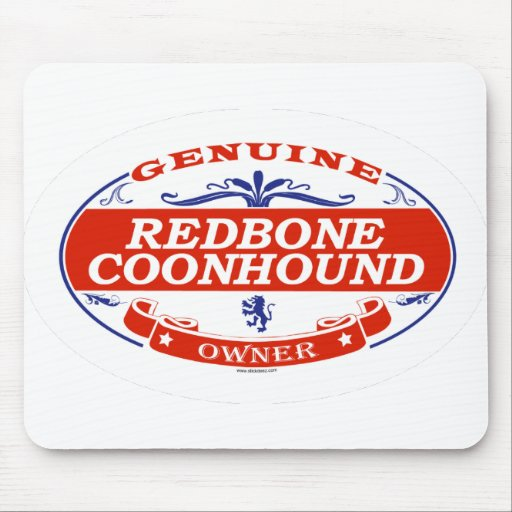 REDBONE COONHOUND_ MOUSE PAD