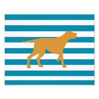 redbone coonhound photo print