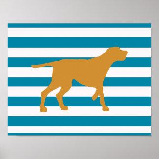 redbone coonhound poster