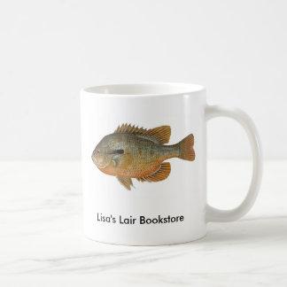Redbreast Sunfish - Lepomis auritus B/store Promo Coffee Mug