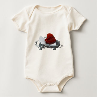 RedBrokenHeartGurney092715.png Baby Bodysuit
