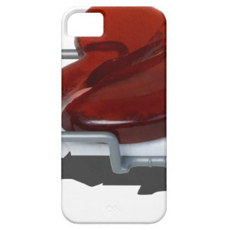 RedBrokenHeartGurney092715.png iPhone SE/5/5s Case