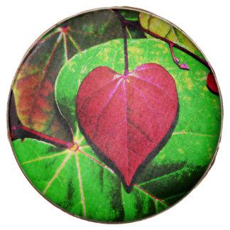 Redbud Heart Leaf Chocolate Covered Oreo