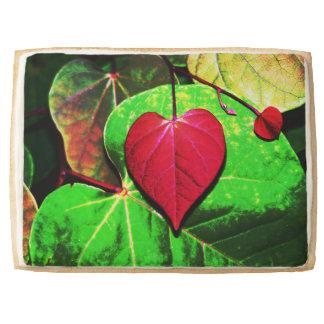 Redbud Heart Leaf Jumbo Shortbread Cookie